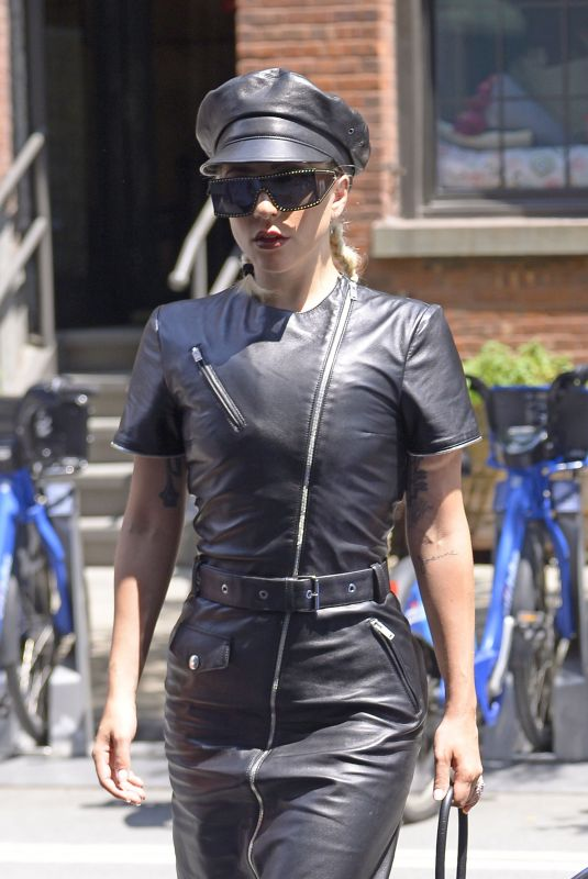 LADY GAGA Arrives at a Photoshoot in New York 07/11/2018
