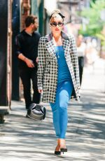 LADY GAGA Leaves a Boutique in New York 07/10/2018