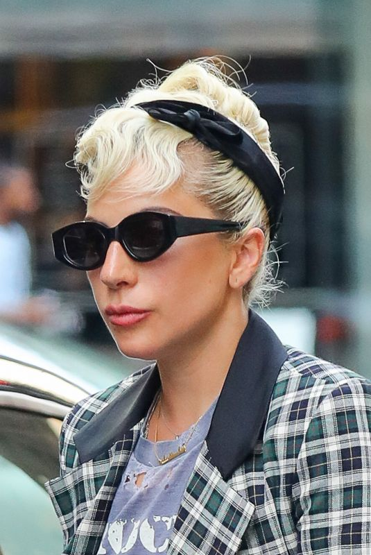 LADY GAGA Out and About in New York 07/11/2018