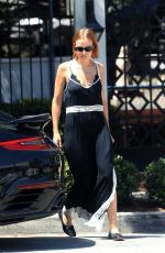 LARA BINGLE at Gracias Madre in West Hollywood 07/24/18