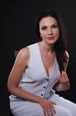 LAURA MENNELL at Variety Studio at Comic-con in San Diego 07/21/2018