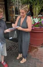 LAUREN ALAINA Out and About in Washington, D.C. 07/04/2018