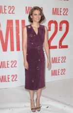 LAUREN COHAN at Mile 22 Photocall in Los Angeles 07/28/2018