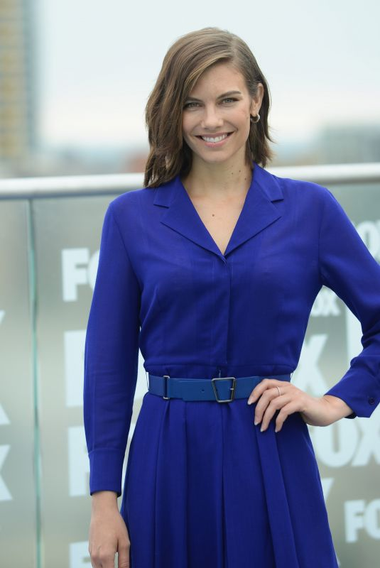 LAUREN COHAN at The Walking Dead Photocall at Comic-con in San Diego 07/20/2018