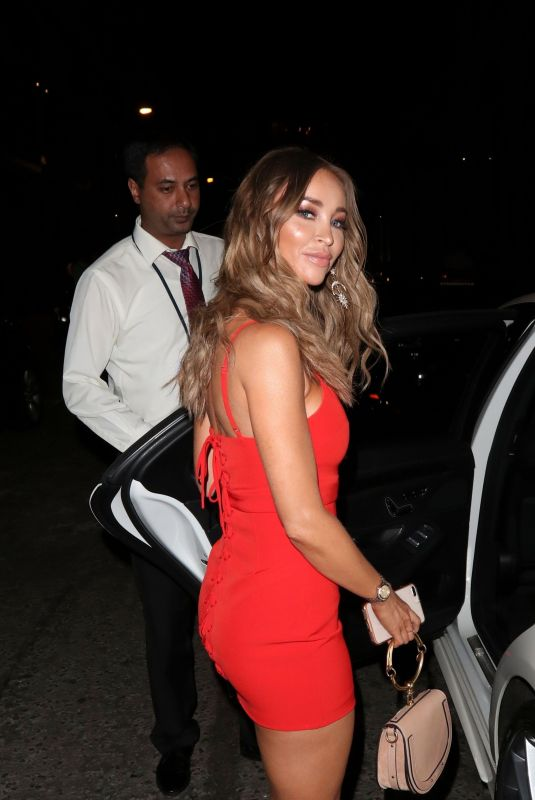 LAUREN POPE at ITV Summer Party in London 07/19/2018
