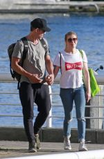 LEANN RIMES Out to Picnic in Vancouver 07/08/2018