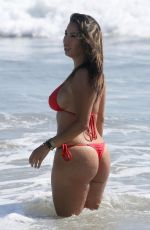 LIANA MENDOZA in Bikini at a Beach in Malibu 07/03/2018