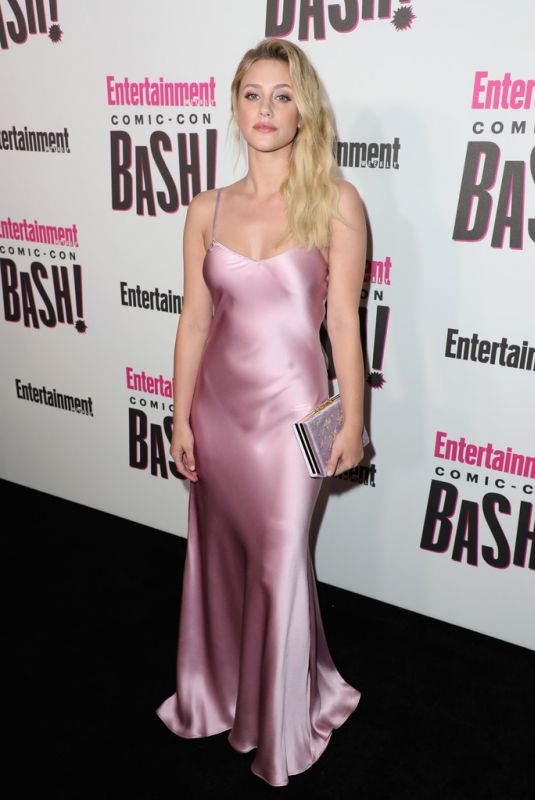 LILI REINHART at Entertainment Weekly Party at Comic-con in San Diego 07/21/2018