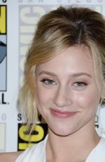 LILI REINHART at Riverdale Photo Line at Comic-con in San Diego 07/21/2018