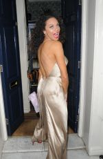 LILLY BECKER at Marks Club in London 07/10/2018