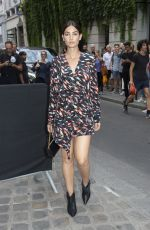 LILY ALDRIDGE at Givenchy Fashion Show at Paris Fashion Week 07/01/2018