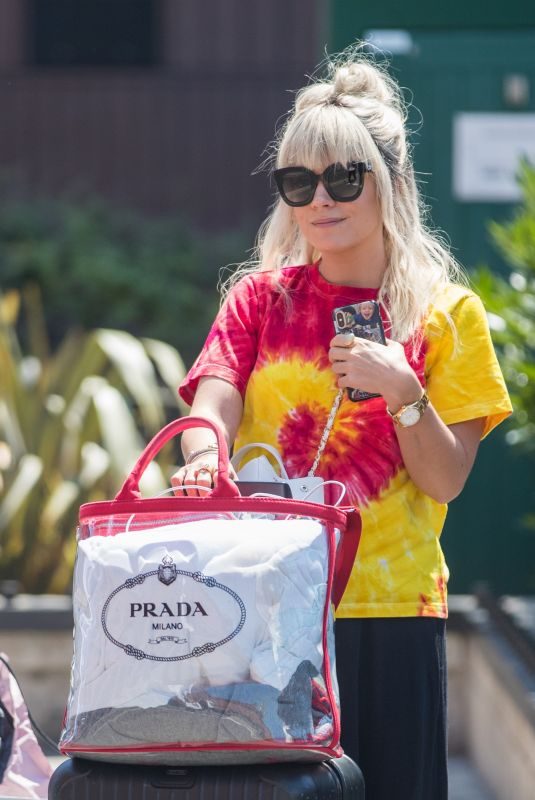 LILY ALLEN Arrives Back in London 07/03/2018