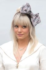 LILY ALLEN at Chanel Show at Haute Couture Fashion Week in Paris 07/03/2018