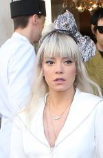 LILY ALLEN Leaves Her Hotel in Paris 07/03/2018