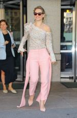 LILY JAMES at ABC Studio in New York 07/18/2018