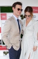 LILY JAMES at Audi Polo Challenge at Coworth Park Polo Club 07/01/2018
