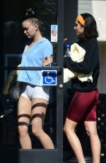 LILY-ROSE DEPP at a Gym in Los Angeles 07/24/2018