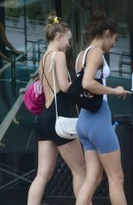 LILY-ROSE DEPP in Tights Out in Los Angeles 07/18/2018