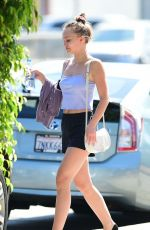 LILY-ROSE DEPP Out and About in Los Angeles 07/19/2018