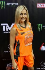 LINDSAY ARNOLD at 50k Charity Challenge Celebrity Basketball Game in Westwood 07/17/2018