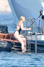 LINDSEY VONN in Swimsuit on Holiday in Sardinia 07/04/2018