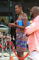 LISA LESLIE at Niecy Nash Walk of Fame Ceremony in Hollywood 07/11/2018