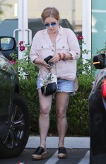 LISA MARIE PRESLEY Leaves a Nail Salon in Los Angeles 07/16/2018