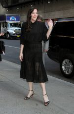LIV TYLER Arrives at Late Show with Stephen Colbert in New York 07/12/2018