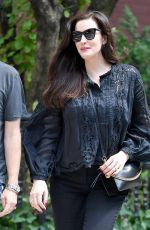 LIV TYLER Leaves Sant Ambroeus in New York 07/12/2018