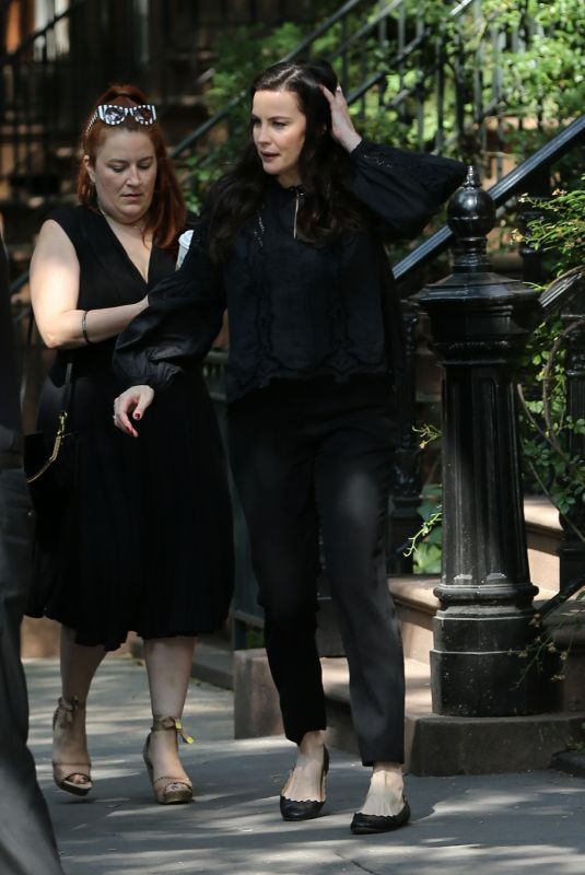 LIV TYLER Out in New York 07/12/2018