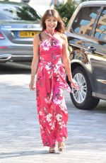 LIZZIE CUNDY at ITV Studio in London 07/18/2018