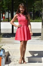 LIZZIE CUNDY at ITV Studios in London 07/23/2018