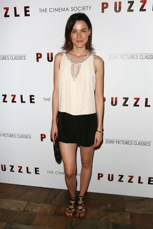 LOAN CHABANOL at Puzzle Screening in New York 07/24/2018