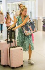 LOTTIE MOSS at Berlin Tegel Airport 07/06/2018