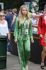 LOTTIE MOSS at Wimbledon Tennis Tournament in London 07/09/2018