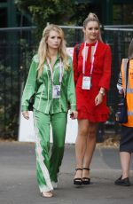 LOTTIE MOSS at Wimbledon Tennis Tournament in London 07/09/2018