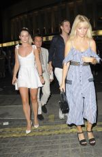 LOTTIE MOSS Out in London 07/16/2018