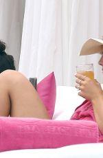 LOUISA JOHNSON in Bikini at a Pool in Ibiza 07/03/2018