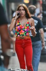 LOURDES LEON Out in New York 07/28/2018