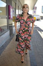 LUCY FALLON Arrives at Viva Showbar in Blackpool 07/09/2018