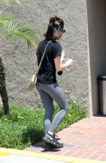 LUCY HALE Arrives at Dentist Office in Los Angeles 07/19/2018