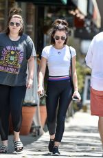 LUCY HALE at Coyote Cafe in Los Angeles 07/21/2018