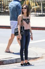 LUCY HALE Out and About in Los Angeles 07/02/2018