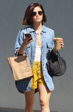 LUCY HALE Out and About in Los Angeles 07/24/2018