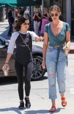 LUCY HALE Out for Coffee in Los Angeles 07/17/2018