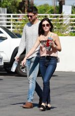 LUCY HALE Out in Los Angeles 07/02/2018