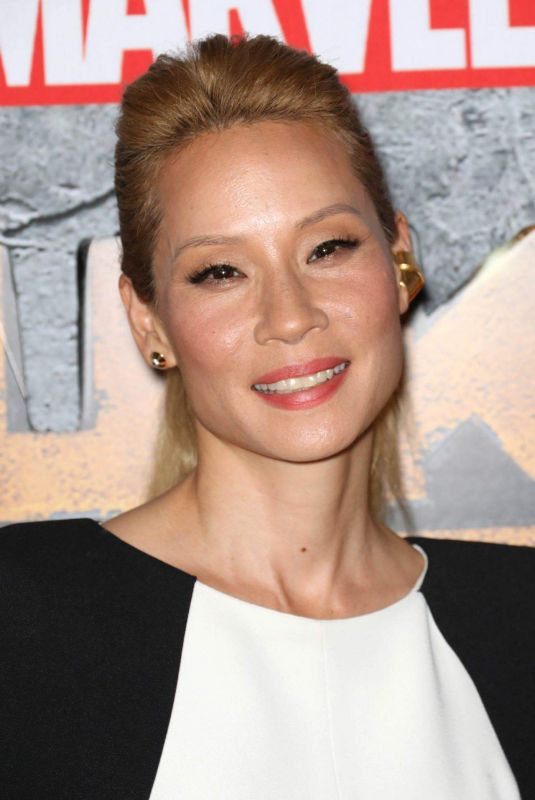 LUCY LIU at Luke Cage Premiere in New York 07/21/2018