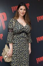 LUCY PINDER at Fanged Up Premiere in London 07/25/2018