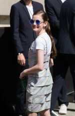 MACKENZIE FOY at Chanel Show at Haute Couture Fashion Week in Paris 07/03/2018