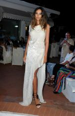 MADALINA GHENEA at Ischia Global Festival Andrea Boccelli Humanitarian Awards Gala Dinner 07/17/2018